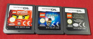 Lego Ninjago, Harry Potter 1-4 & Pirates of the Caribbean Nintendo DS Game Bundle Cartridge Only