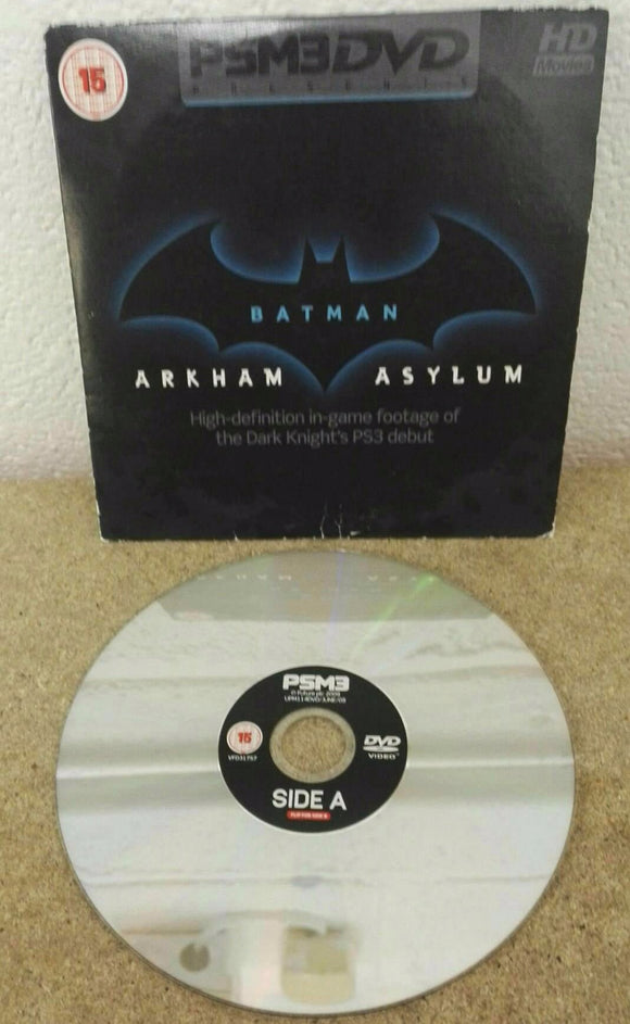 Batman Arkham Asylum Sony Playstation 3 (PS3) RARE Demo Disc