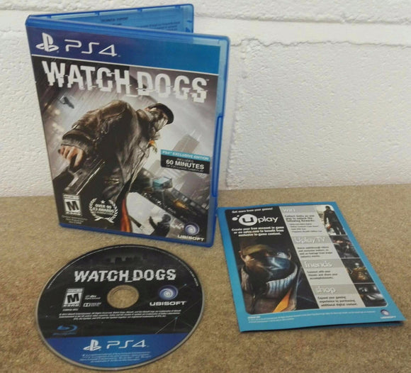 Watch Dogs Sony Playstation 4 (PS4) Game