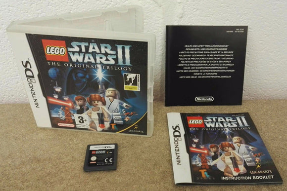 Lego Star Wars II the Original Trilogy Nintendo DS Game