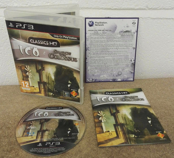 ICO & Shadow of the Colossus Collection Sony Playstation 3 (PS3) Game