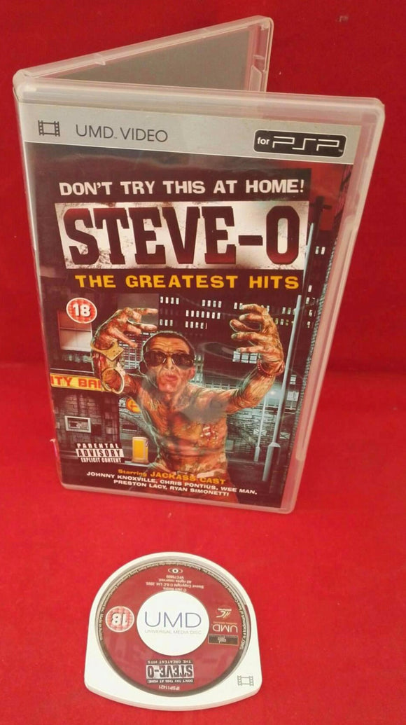 Steve-O the Greatest Hits Sony PSP UMD