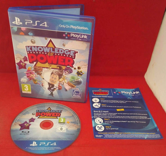 Knowledge is Power Sony Playstation 4 (PS4) Game