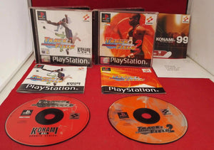 International Track & Field 1 & 2 Sony Playstation 1 (PS1) Game Bundle