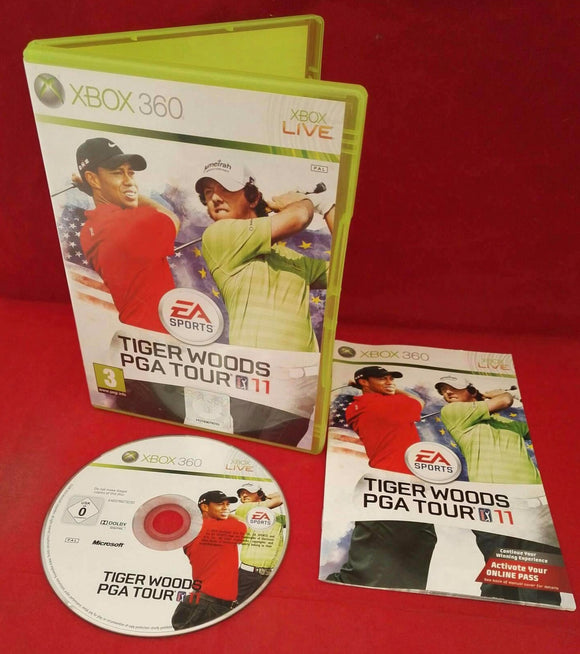 Tiger Woods PGA Tour 11 Microsoft Xbox 360 Game