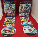 Sonic Riders & Sonic Riders Zero Gravity Sony Playstation 2 (PS2) Game Bundle