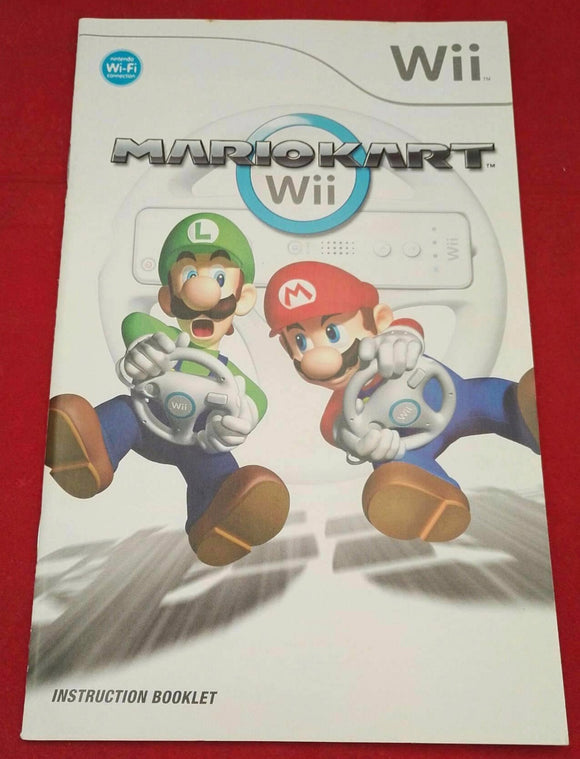 Mario Kart Nintendo Wii Spare Manual Only