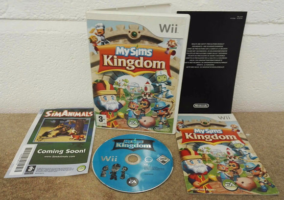 My Sims Kingdom (Nintendo Wii) Game