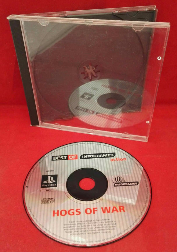 Hogs of War Sony Playstation 1 (PS1) Game Disc Only