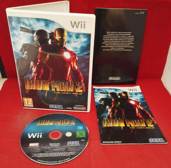 Iron Man 2 Nintendo Wii Game