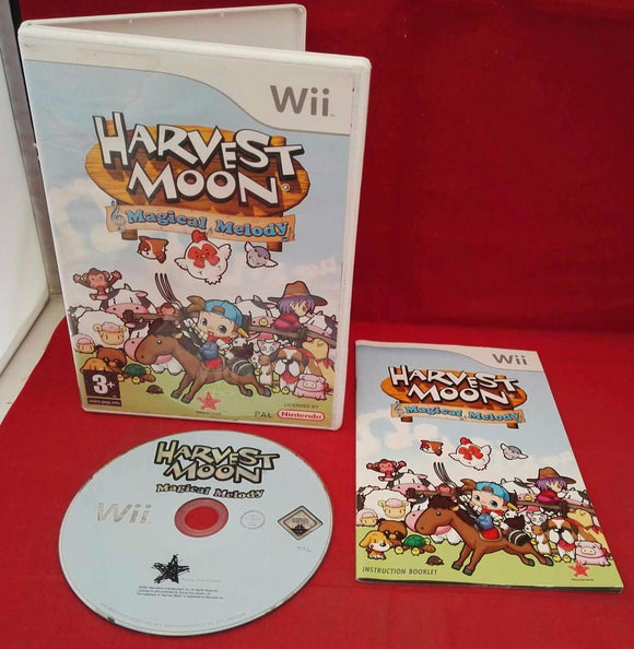 Harvest Moon Magical Melody Nintendo Wii Game