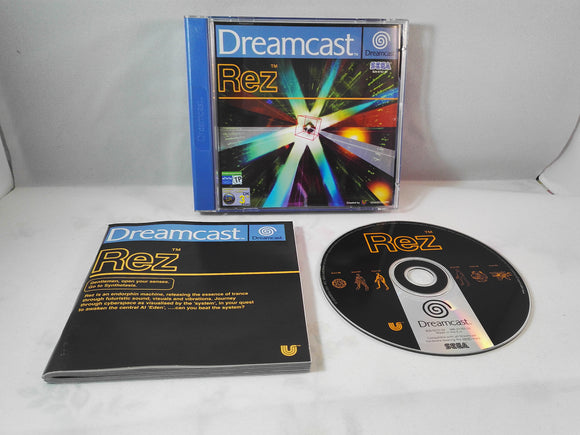 Rez (Sega Dreamcast) game