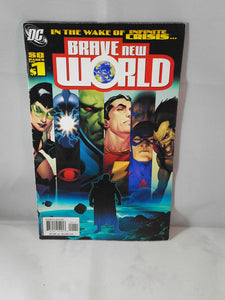 Brave New World DC Universe comic