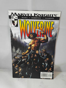 Marvel Knights Wolverine Comic Book