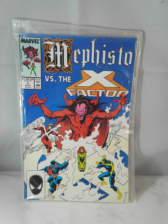 Mephisto VS. The X Factor Marvel Comic