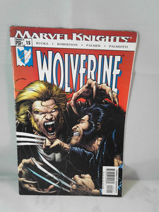 Marvel Knights Wolverine comic 15
