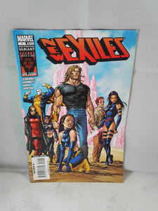 New Exiles Marvel Comic