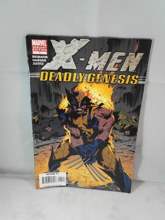 X-Men Deadly Genesis Marvel Comic