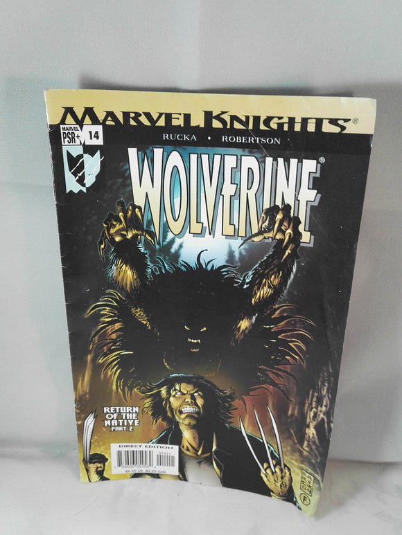 Marvel Knights Wolverine Return of the Native Part 2 Marvel Comic