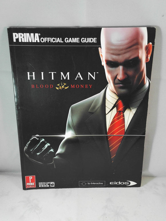 Hitman Blood Money Prima Official Guide book (PS2, PC, Xbox, Xbox 360) Accessory