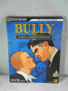 Bully Scholarship Edition Signature Series guide book (Xbox 360 & Wii) Accessory