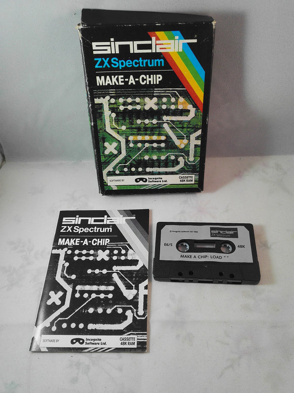 Make-A-Chip (Sinclair ZX Spectrum) game