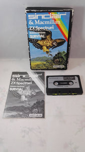 Science Horizons Survival (Sinclair ZX Specrum) game