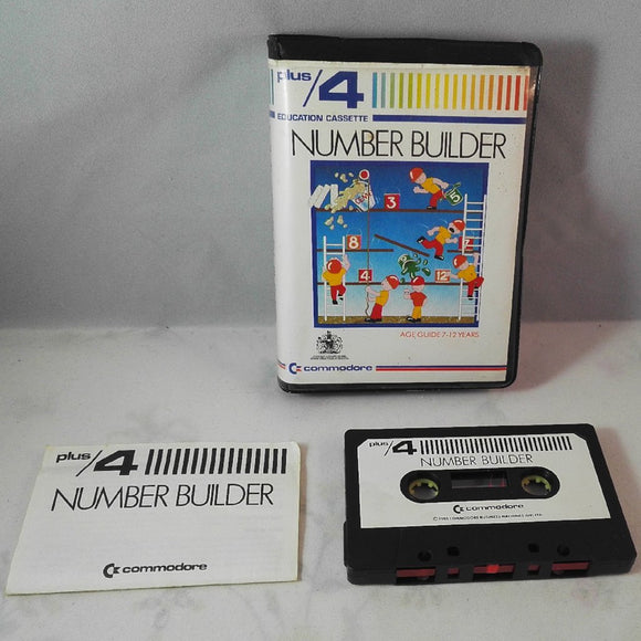 Number Builder (Commodore Plus/4) game