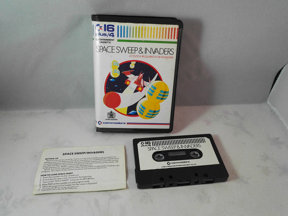 Space Sweep & Invaders (Commodore 16 plus/4) game