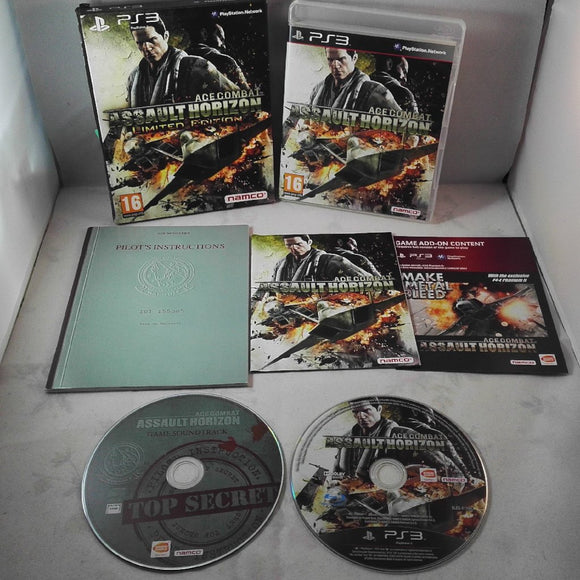 Ace Combat Assault Horizon Limited Edition PS3 (Sony Playstation 3) game