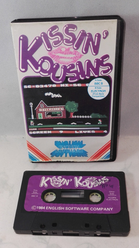 Kissing Kousins (BBC B & BBC Electron) game