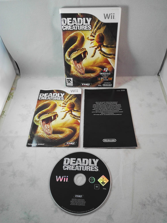 Deadly Creatures (Nintendo Wii) game