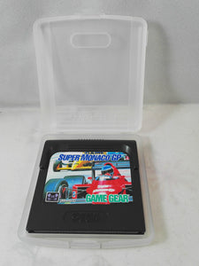 Super Monaco GP (Sega Game Gear) game in case