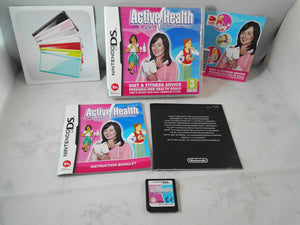 Active Health (Nintendo DS) game