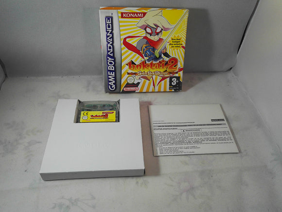 Boktai 2 Solar Boy Django Nintendo Gameboy Advance RARE Game