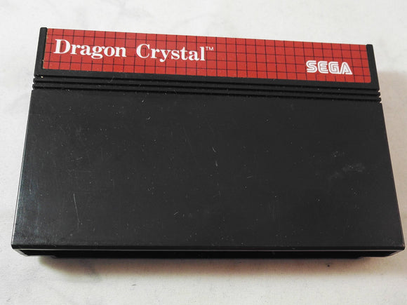 Dragon Crystal (Sega Master System) RARE Game