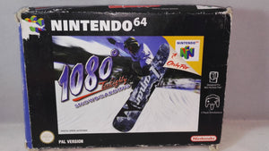 1080 Degrees Snowboarding (Nintendo 64) Boxed Game