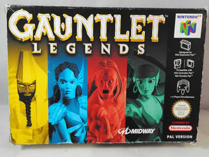 Gauntlet Legends (Nintendo 64) Boxed Game