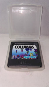 Columns (Sega Game Gear) Game in case