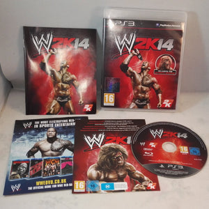 WWE 2K14 PS3 (Sony Playstation 3) Game