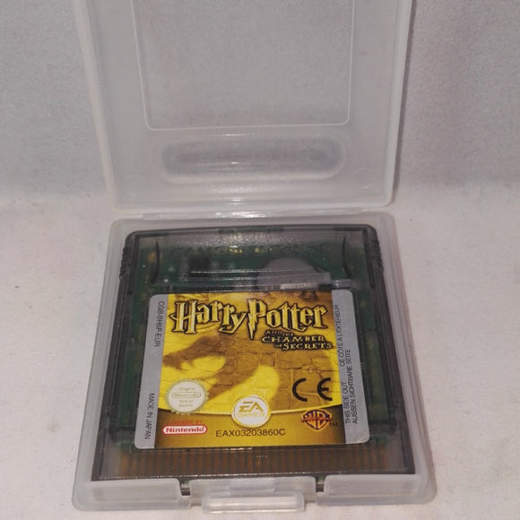 Harry Potter and the Chamber of Secrets RARE (Nintendo Gameboy Color) Game