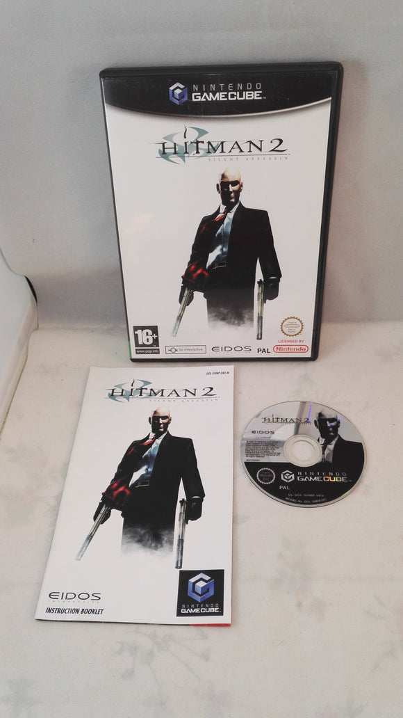 Hitman 2: Silent Assassin (Nintendo Gamecube) Game