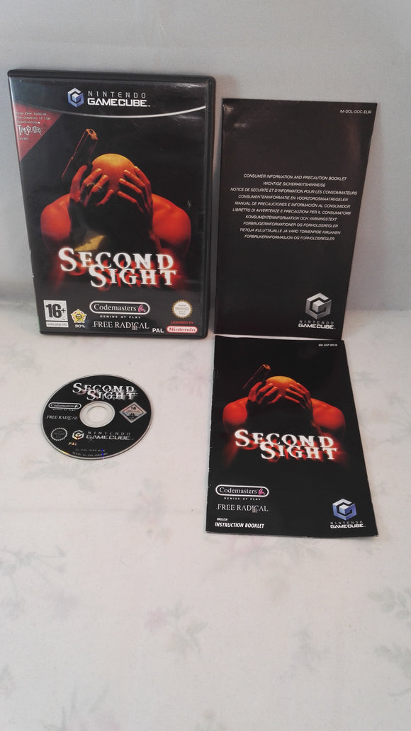 Second Sight (Nintendo Gamecube) Game