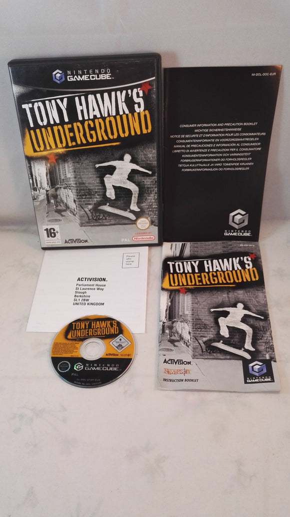 Tony Hawk's Underground (Nintendo Gamecube) Game