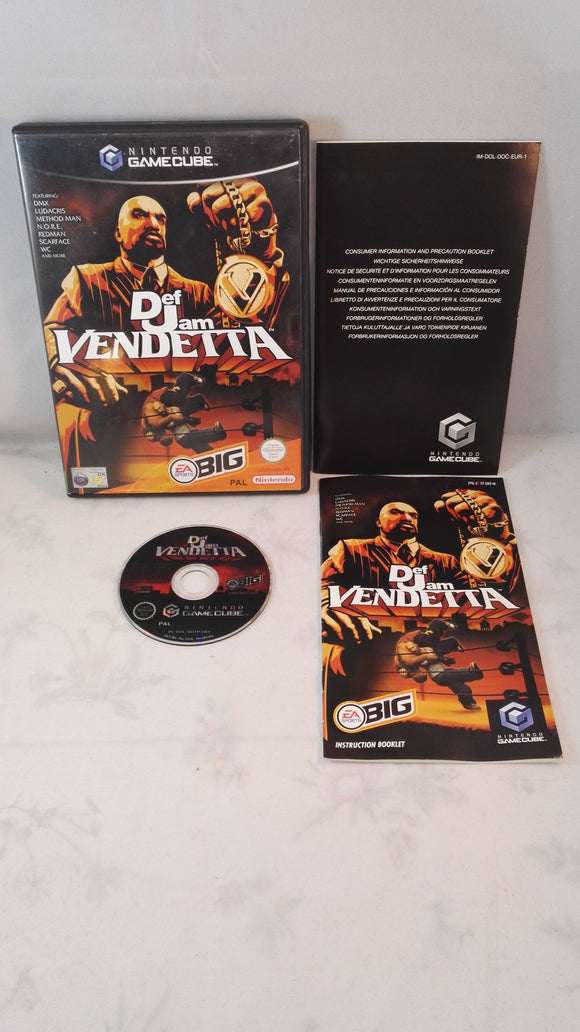 Def Jam Vendetta (Nintendo Gamecube) Game