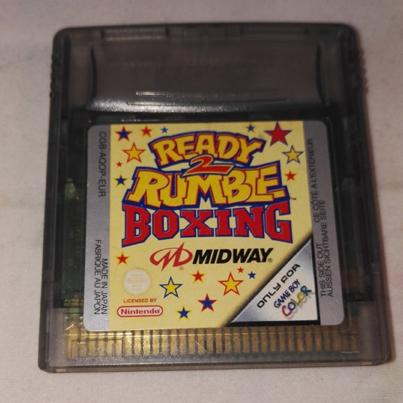 Ready 2 Rumble Boxing Cartridge Only Nintendo Gameboy Color Game