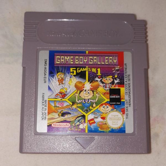 Gameboy Gallery 5 Games in 1 (Nintendo Gameboy) Game