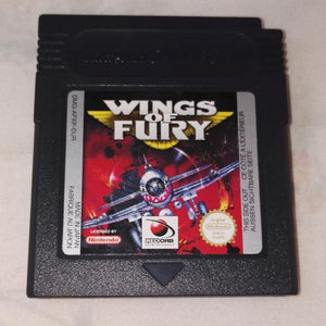 Wings of Fury (Nintendo Gameboy Color) Game