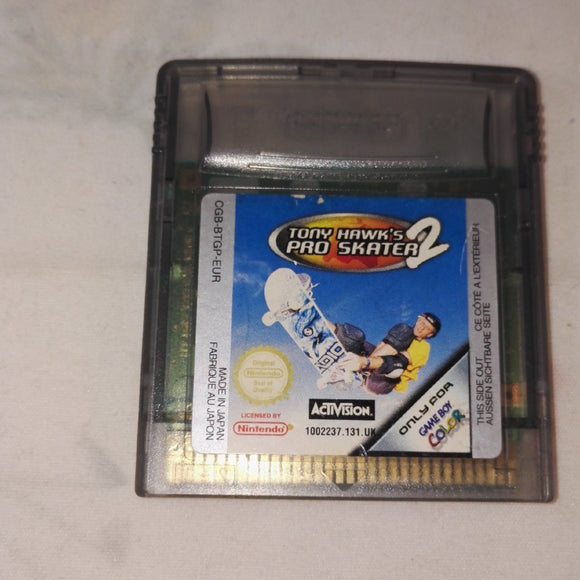 Tony Hawk's Pro Skater 2 (Nintendo Gameboy Color) Game.