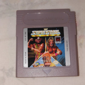 WWF Super Stars (Nintendo Gameboy) Game